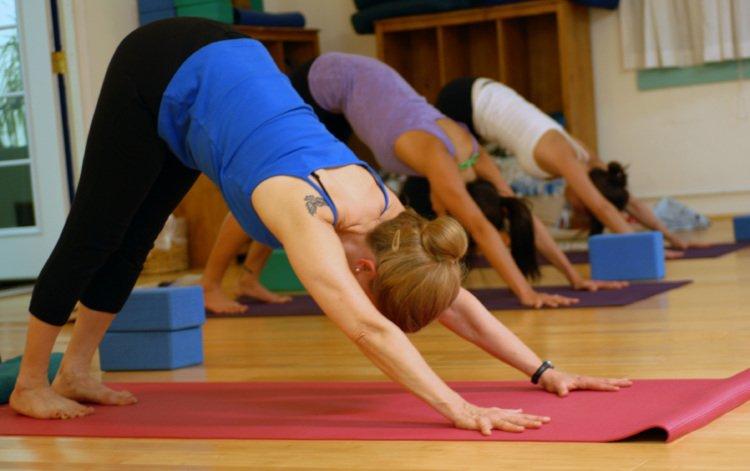 Seances de yoga bien etre employes